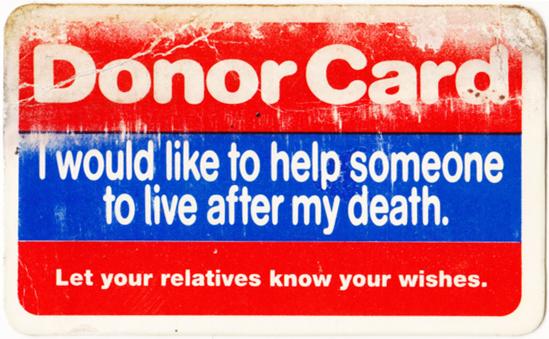 DonorCardThen