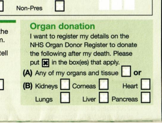DonorLicense
